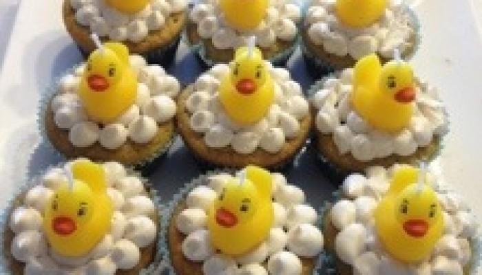 White Bean Cupcakes