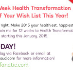 Transform in 12 Weeks With Me This January 2015!