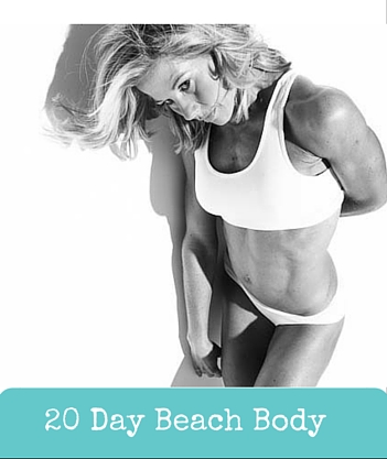 20 Day Beach Body - Only $99