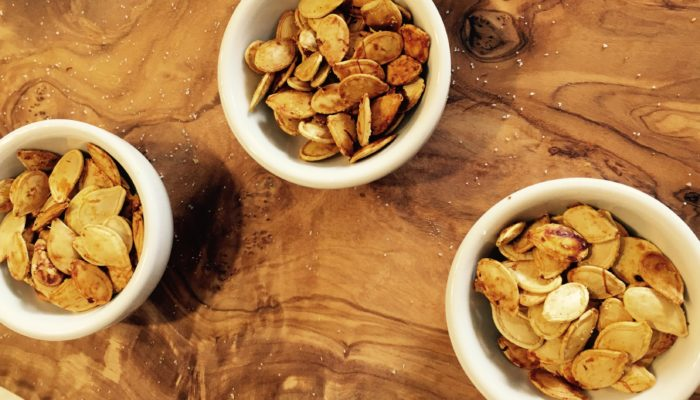 Perfectly Crunchy Pumpkin Seeds