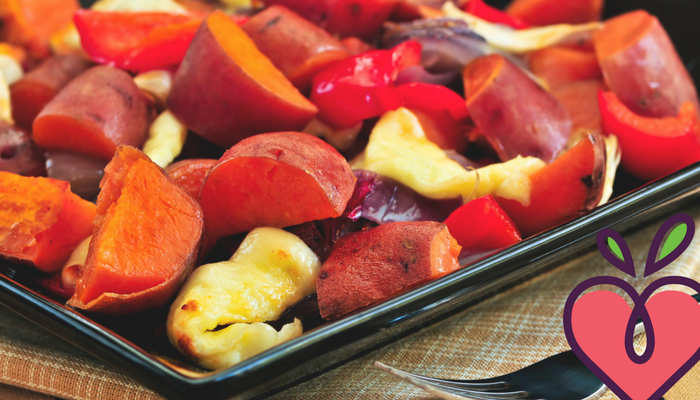 Hearty Roast Veggies