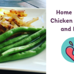 Home Baked Chicken Fingers & Fries